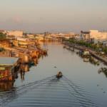 Con sông từng là nơi họp chợ nổi Cà Mau