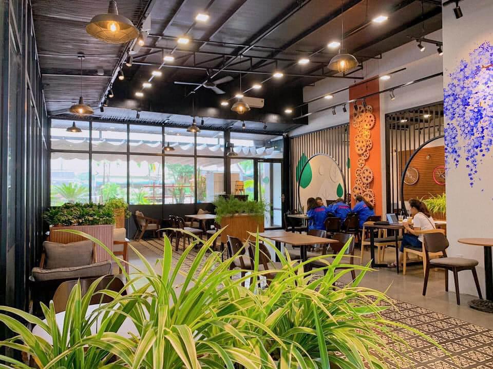 Không gian bên trong quán OMG Taiwan Milk Tea