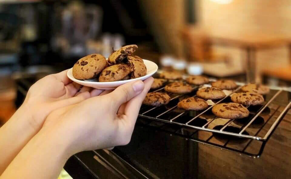 Những chiếc bánh cookie handmade ở Time Coffee Cần Thơ
