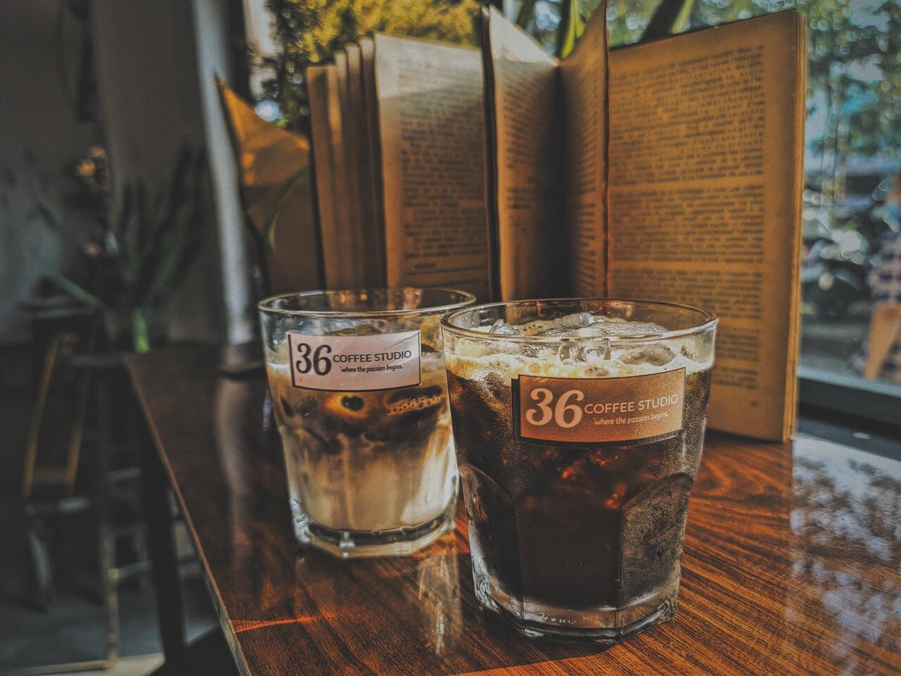 Món cà phê hấp dẫn ở 36 Coffee Studio Cần Thơ