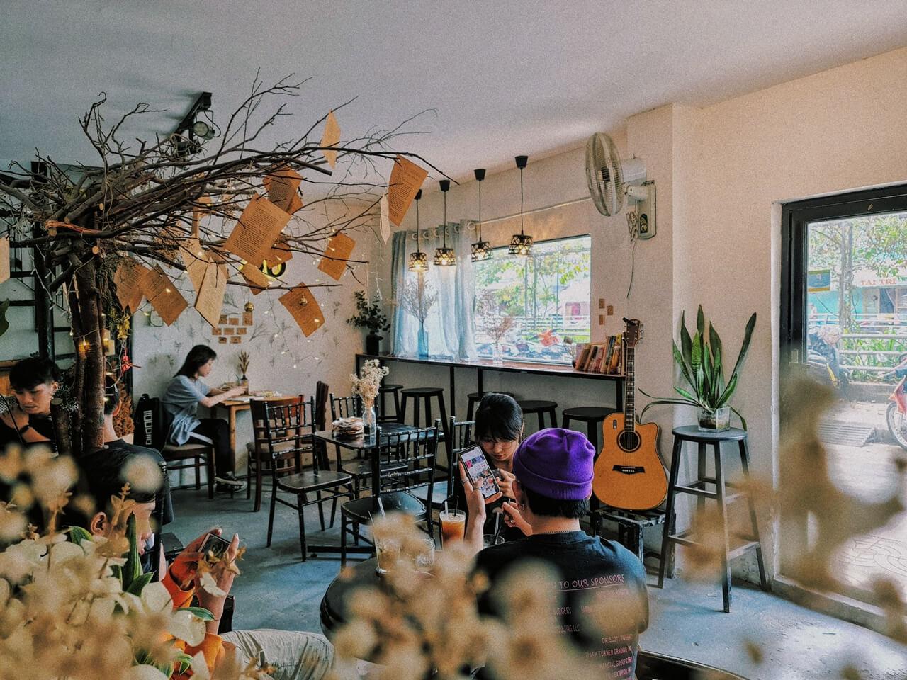 Tiệm cà phê này là sự lựa chọn của nhiều bạn trẻ