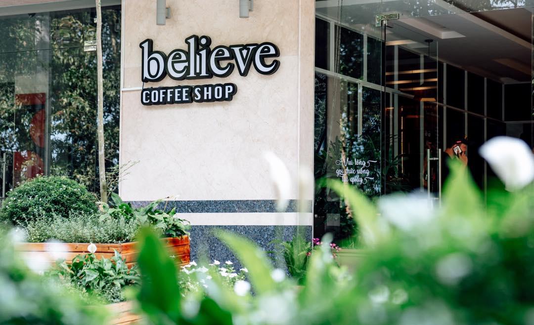Quán cà phê Believe Coffee Shop Cần Thơ