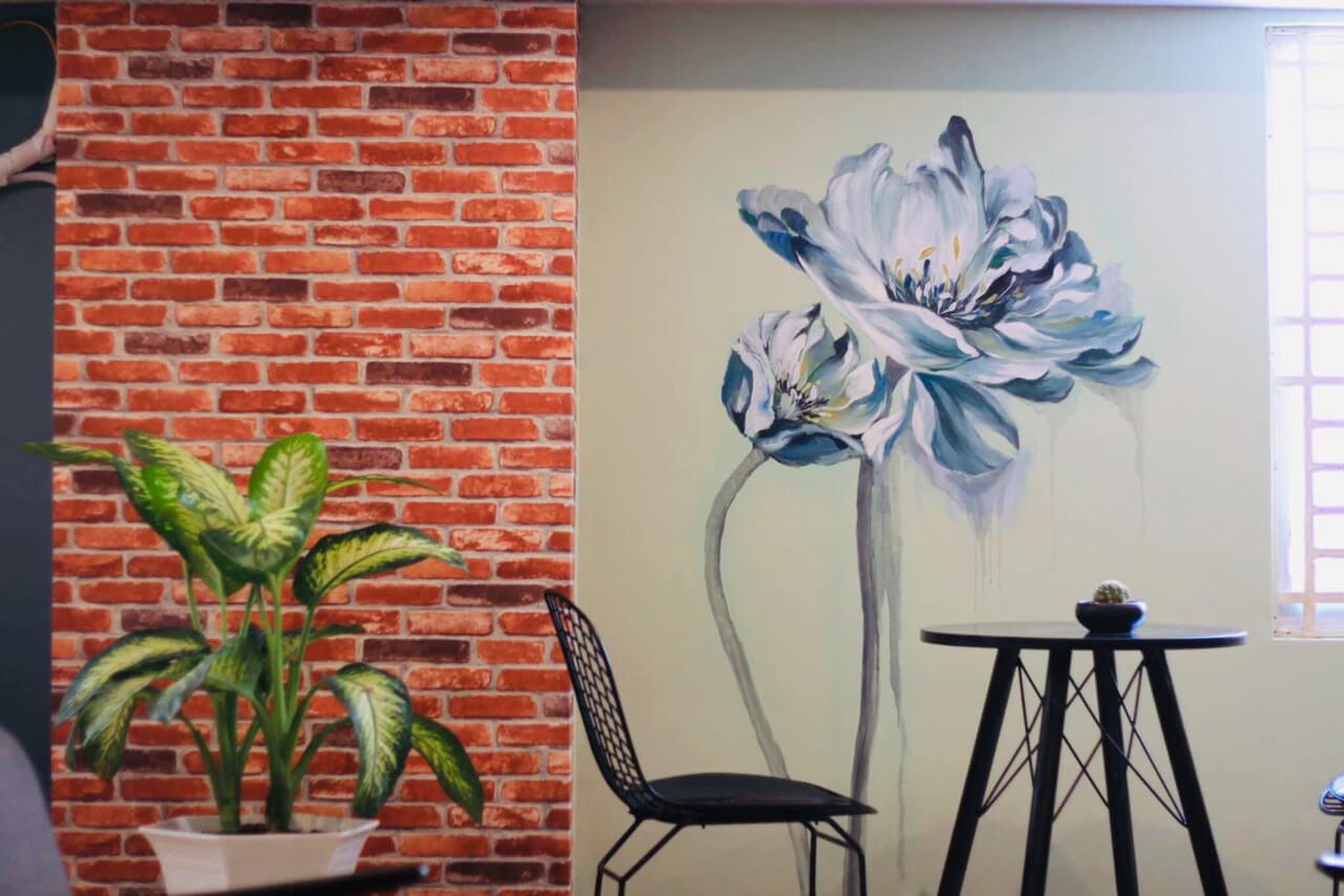 Thiết kế không gian khá ổn ở Gani Coffee House Cần Thơ