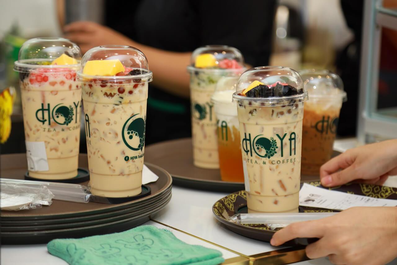 Trà sữa của quán Hoya coffee and tea Cần Thơ