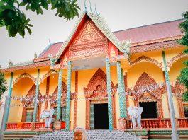 Chánh điện chùa Wach Pich