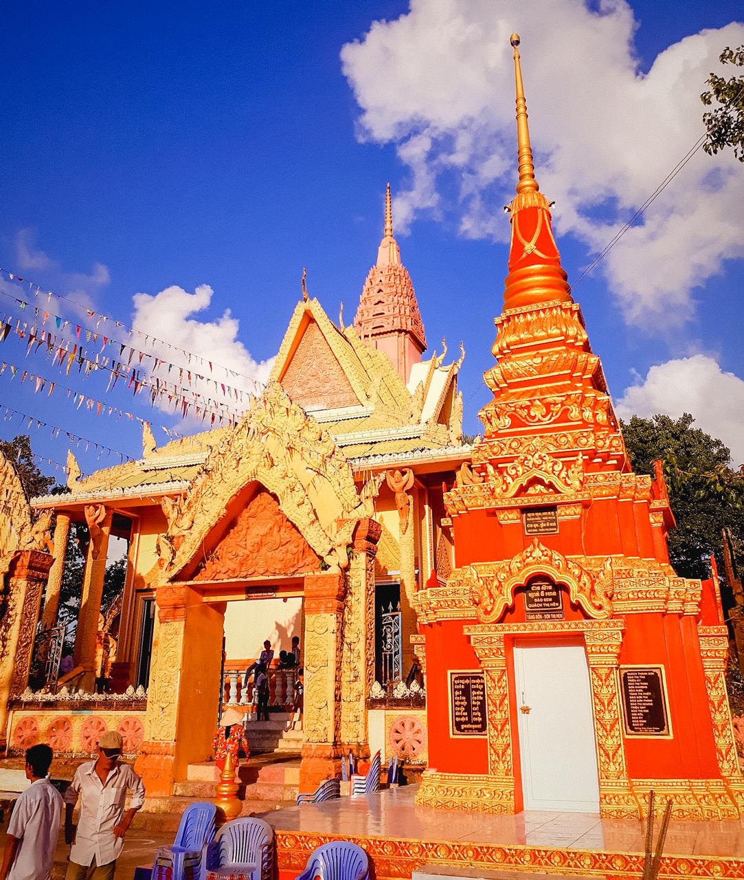 Kiến trúc rực rỡ của chùa